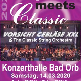 Pop meets Classic Bad Orb Konzerthalle